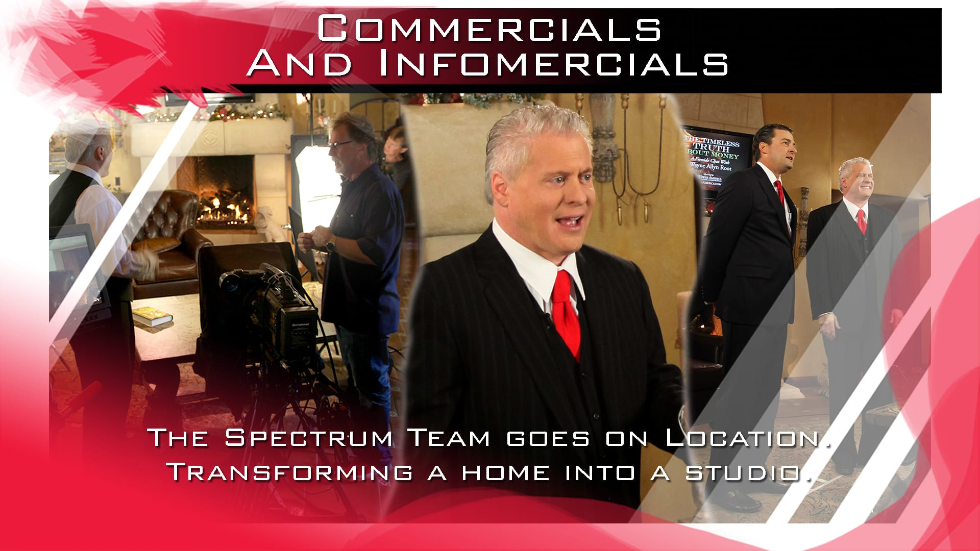 Spectrum Video On-site production, Film, Commercial, Phoenix, Arizona, Wayne Allyn Root