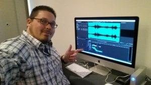 Spectrum Video Robert Troub on location edit system