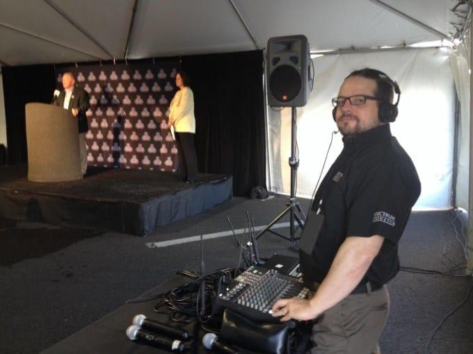 Spectrum Video Brian Weldin Fiesta Bowl Audio Engineer