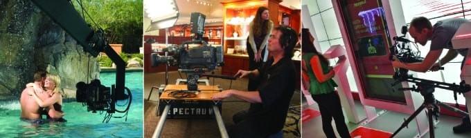Spectrum Video types of camera movement